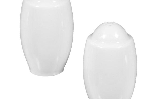 Seltmann Savoy Salz-und Pfeffer-Streuer weiß – paarweise